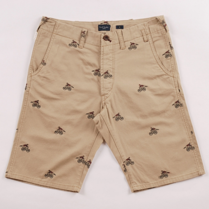Paul Smith Cyclist Embroidered Short (Image 1)