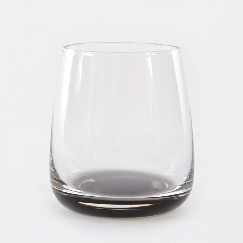 Tumbler 'Smoke' Glass 35cl - Clear / Grey