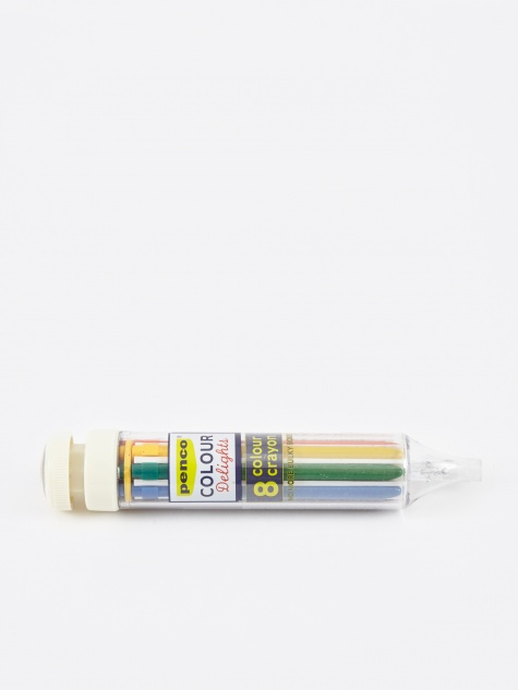 Hightide Penco 8 Colour Crayon - Ivory