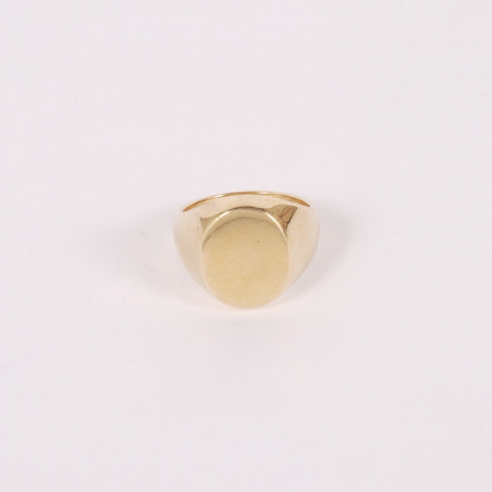 The Goodhood Store 5 Years Bronze Pinky Ring - Large (Image 1)