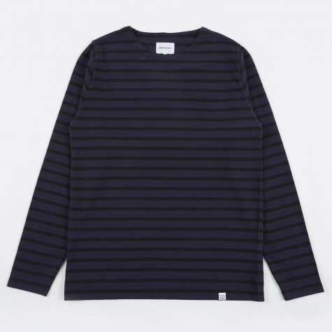 Godtfred Classic Compact Overdye T-Shirt - Navy O