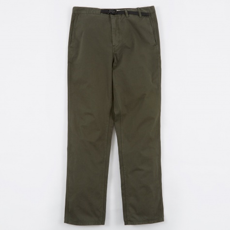 Laurits Garment Dyed Twill Chino Trousers - Fores