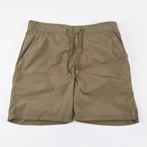 Hauge Nylon Shorts - Dried Olive