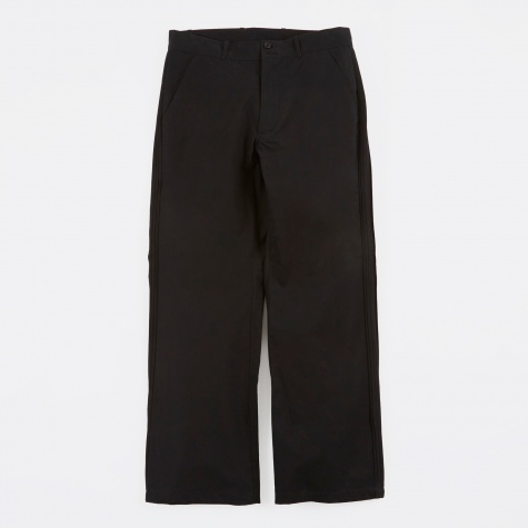 Pintuck Trousers - Black