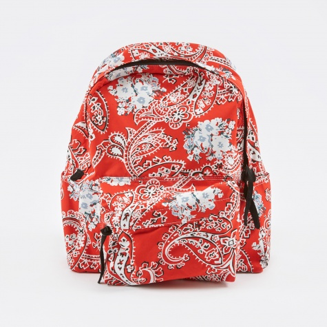 Paisley Backpack - Red