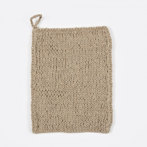 Body Wash Cloth - Natural