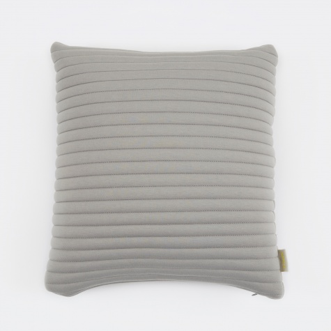 Linear Memory Pillow Square 45x45cm - Grey