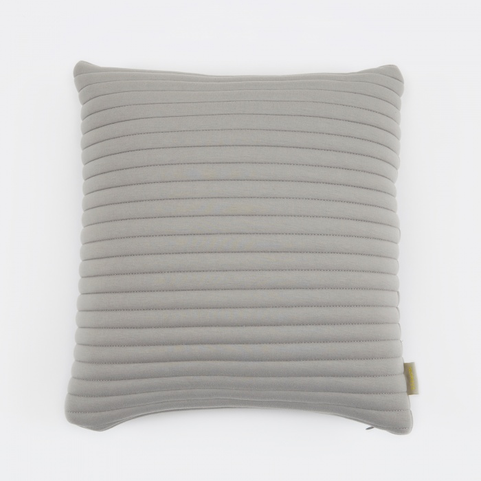 Nomess Linear Memory Pillow Square 45x45cm - Grey (Image 1)