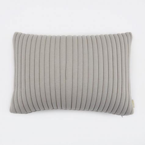Linear Memory Pillow Rectangular 55x40cm - Grey
