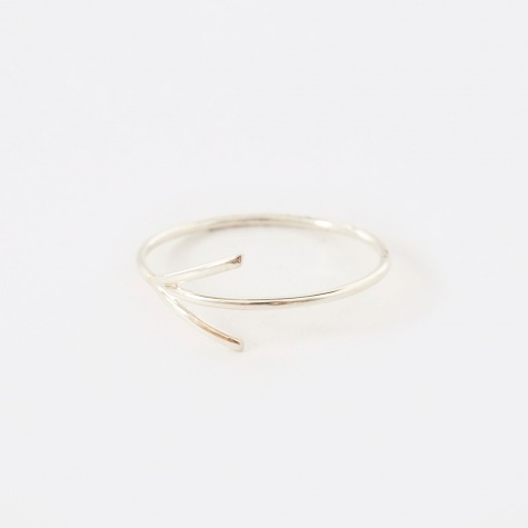 Angle Ring - Sterling Silver