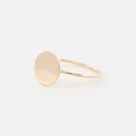 Small Disc Ring - Gold