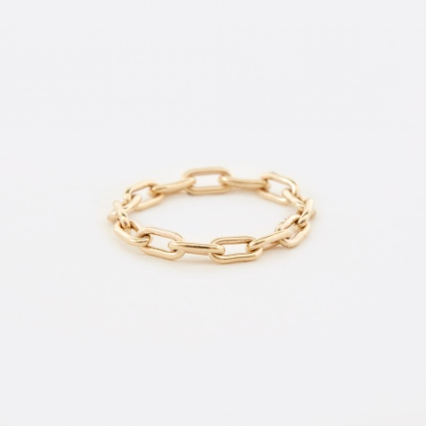Link Chain Ring - Gold