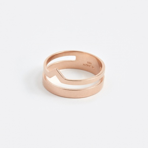 Detour Ring - Rose Gold