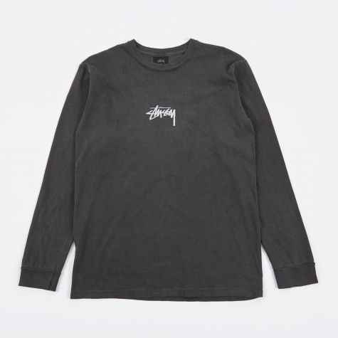 Pigment Dyed Longsleeve T-Shirt - Black