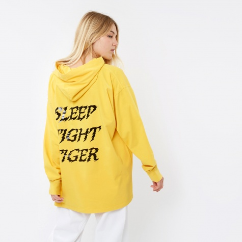 MM6 Hooded L/S Top - Yellow