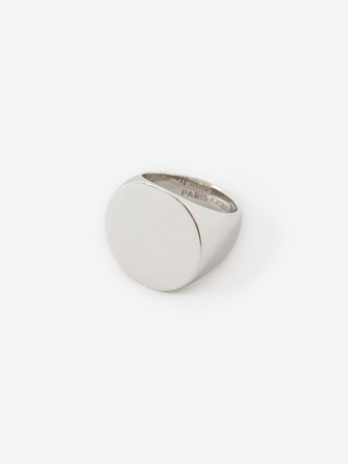 Tom Wood Clean Circle Ring - Polished Silver (Image 1)