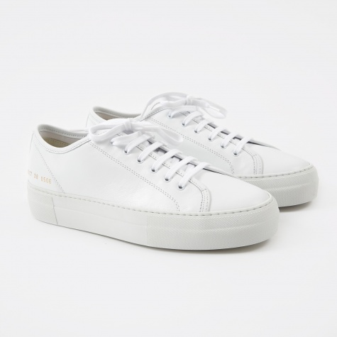 Tournament Low Super - White Leather