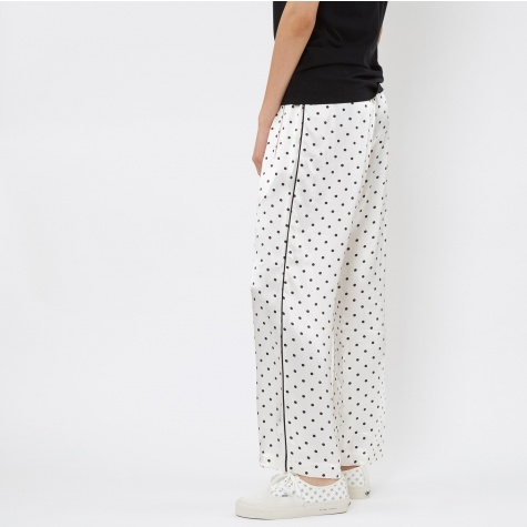 Laclair Satin Trouser - Vanilla Ice