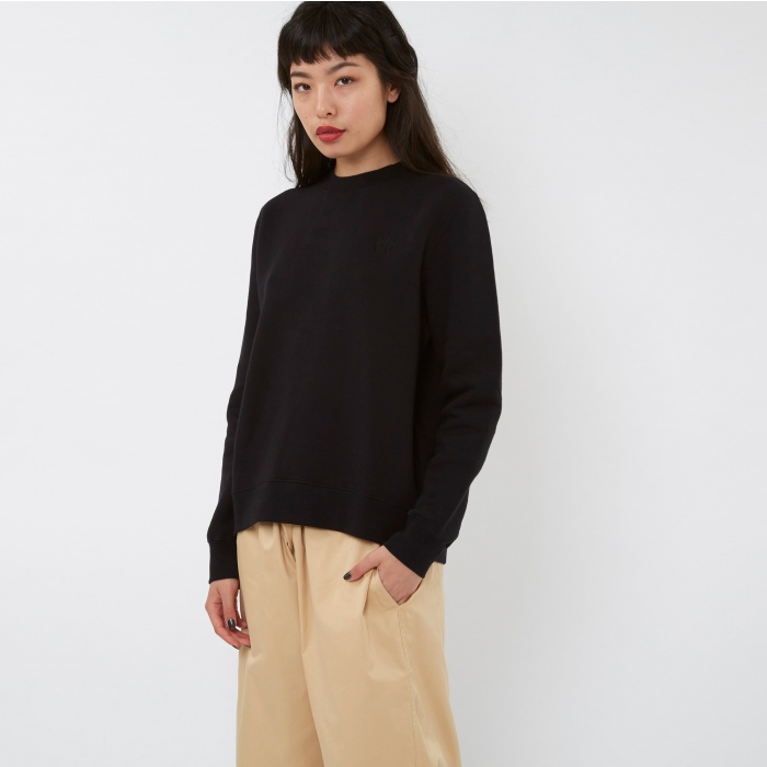 Wood Wood Wednesday Sweatshirt - Black (Image 1)