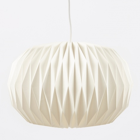 Lampshade Design No.5 - Pure White