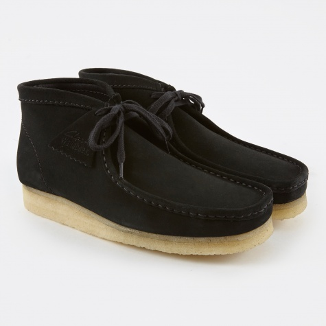 Clarks Wallabee Boot - Black/Natural
