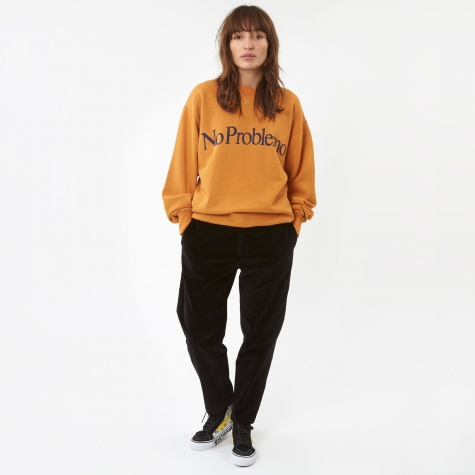 No Problemo Sweatshirt - College Yellow