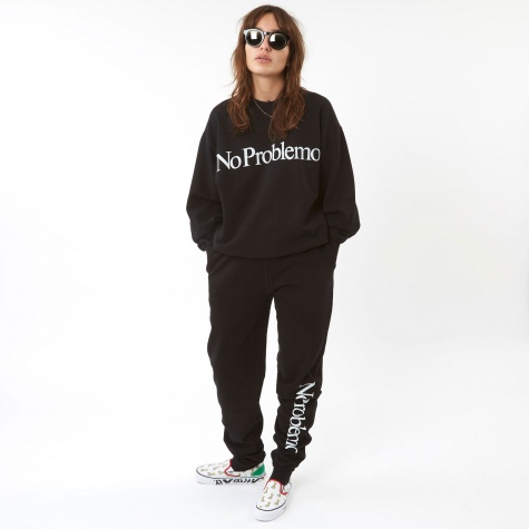 No Problemo Sweatpants - Black
