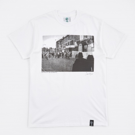 x David Hoffman Brixton T-Shirt - White