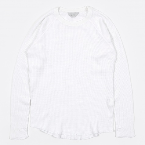 Waffle Top - White