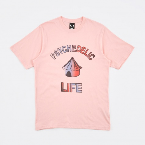 PAM Perks & Mini Psychedelic Life S/S T-Shirt - Pink