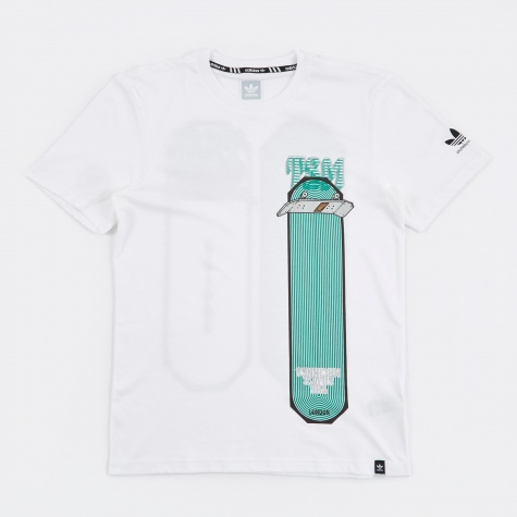 x Gasius Graphic SS T-Shirt - White