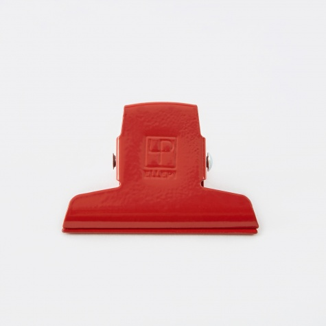Enamel Clip Small 7cm - Red