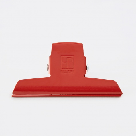 Enamel Clip Large 9cm - Red