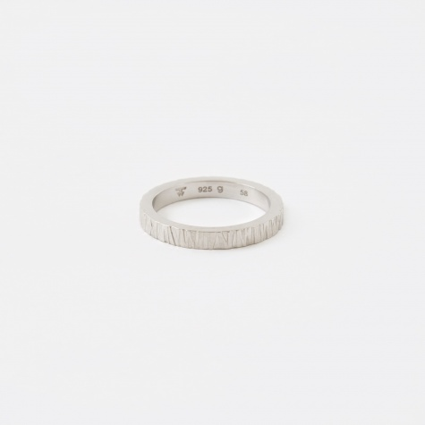 Structure Ring - Silver