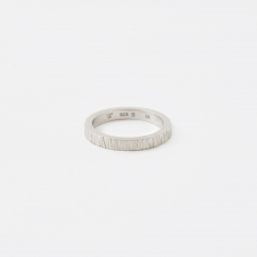 Tom Wood Structure Ring - Silver