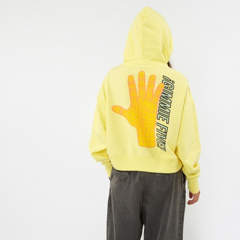 Gimme Five Track Hoodie - Yellow