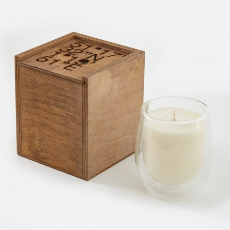 "GPS 19' 51""E Elderflower Candle - 270g"
