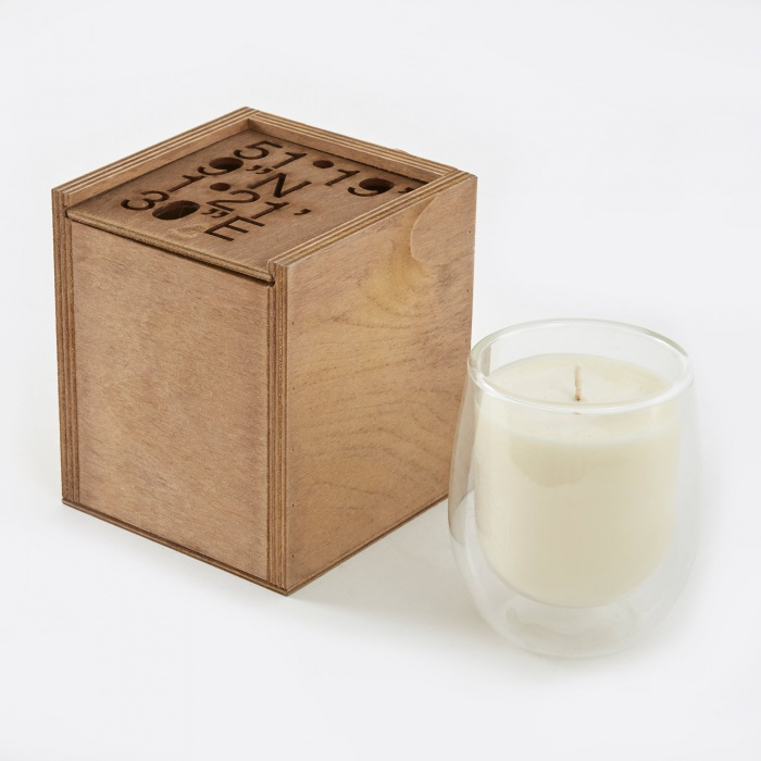 "Haeckels GPS 21' 30""N Fennel Candle - 270g (Image 1)"