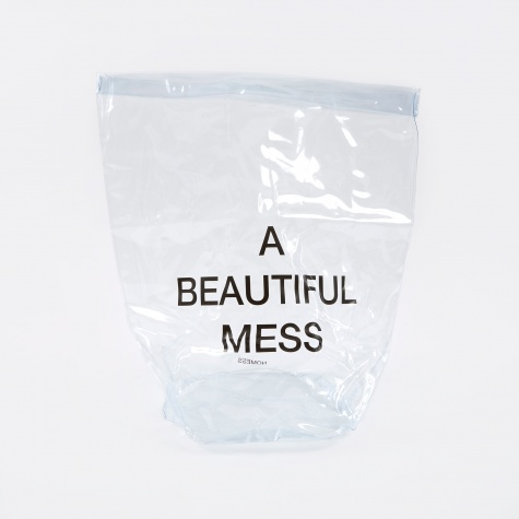 PVC Laundry Bag - Clear