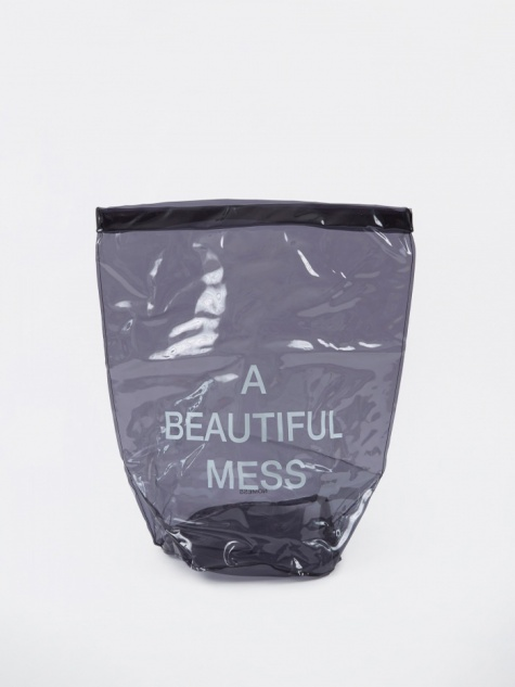 PVC Laundry Bag - Grey
