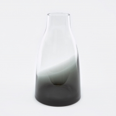 Ro Collection Flower Vase No.3 - Smoked Grey