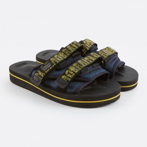 x Suicoke Moto Sandals - Black