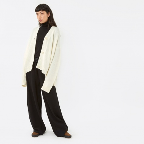 MM6 Knit Cardigan - Off White
