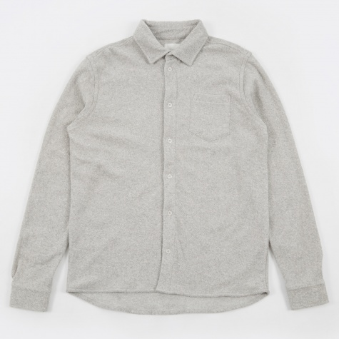 Oval Shirt - Light Grey Melange
