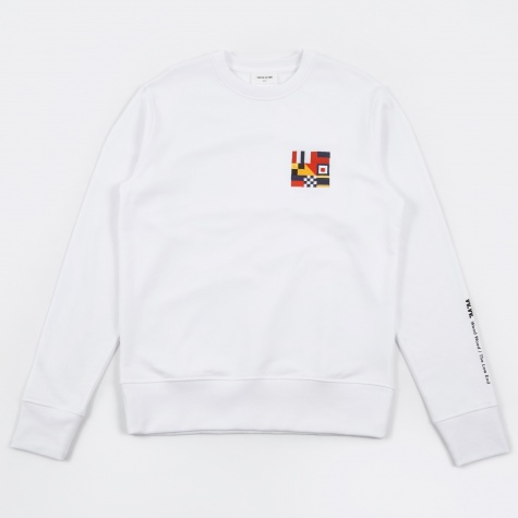 Parson Sweatshirt - Bright White