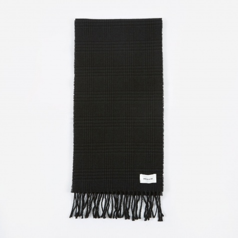 Karlo Scarf - Black Check