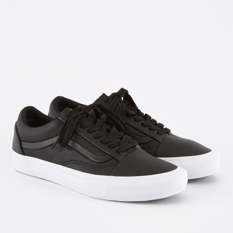 Vault Old Skool ST LX - Black Premium Leather