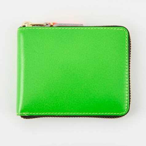Comme Des Garcons Wallet Super Fluo XS (SA7100SF) - Green
