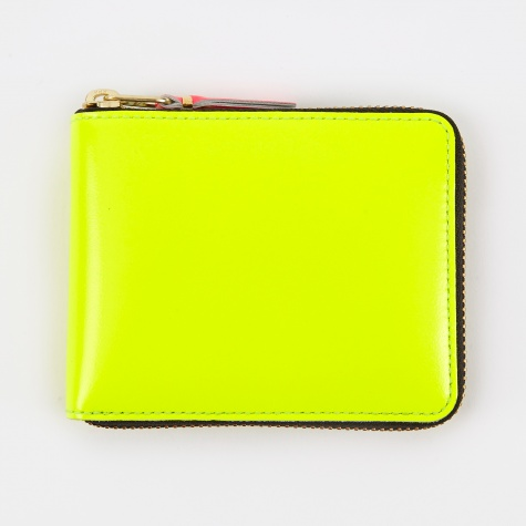 Comme des Garcons Wallet Super Fluo XS (SA7100SF) - Yellow