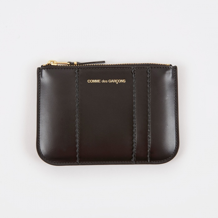 Comme des Garcons Wallets Raised Spike S (SA8100RS) - Black (Image 1)